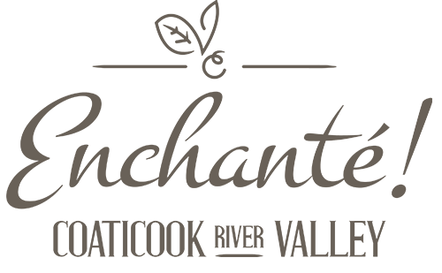 Logo Enchanté. Coaticook River Valley