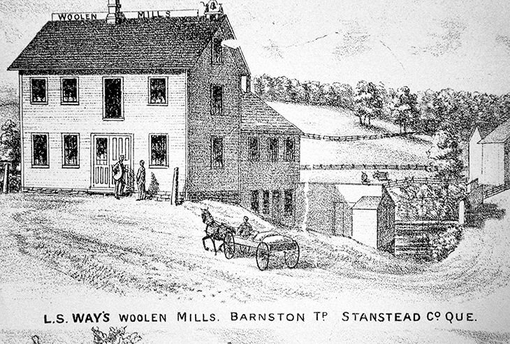 Moulin de laine Way's Mills